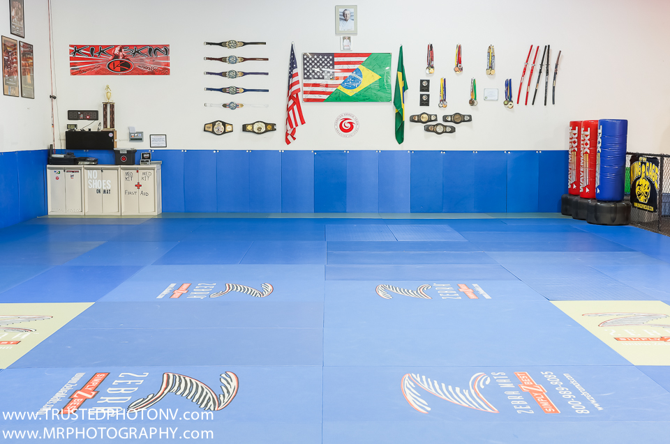 Reno Google Trusted Photographer Marcello Rostagni photographs high quality still images and a Google Virtual Tour for Charles Gracie Jiu Jitsu Reno.